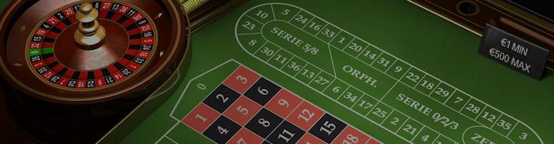 Professionelles Roulette